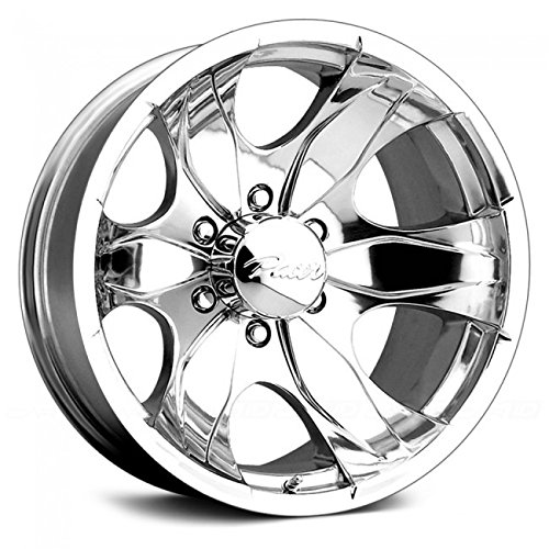Pacer Warrior 16×8 Polished Wheel / Rim 8×6.5 with a 10mm Offset and a 130.00 Hub Bore. Partnumber 187P-6881