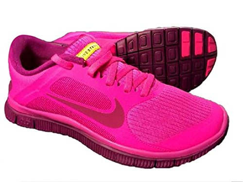 9d21dd93418 Nike Free 4.0 V3 Livestrong Pink Foil Barefoot Women s Running Shoes Size  11 - Buy Online in Oman.