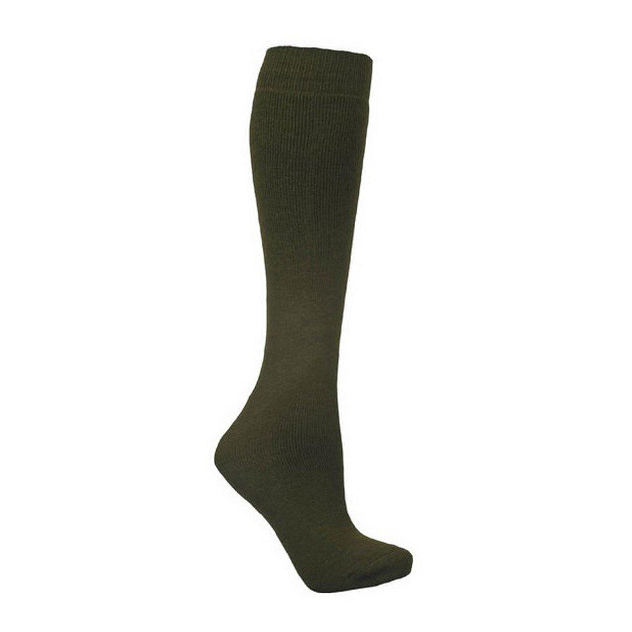Trespass Adults Unisex Tubular Luxury Wool Blend Ski Tube Socks (5-12 US) (Charcoal) UTTP968_2