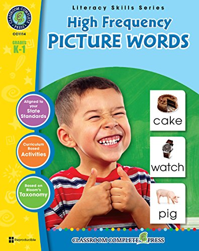 High Frequency Picture Words Gr. PK-2 (Literacy Skills) - Classroom Complete Press