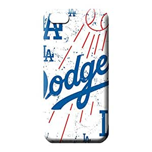 iphone 5 5s Shock Absorbent phone back shell Skin Cases Covers For phone Heavy-duty los angeles dodgers mlb baseball
