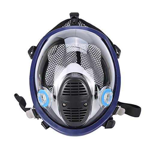 Holulo Organic Vapor Full Face Respirator With Visor Protection For Paint, chemicals, polish welding protection by Holulo (Image #1)