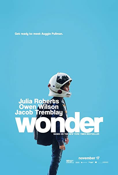 Image result for wonder movie poster