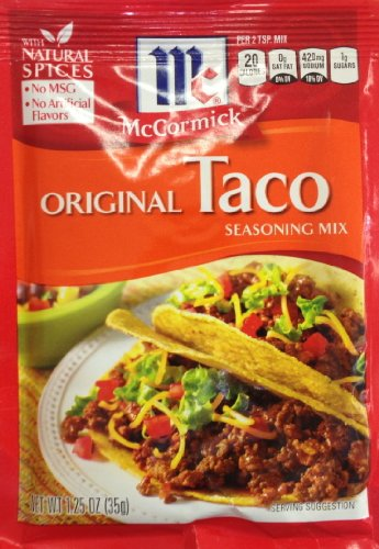 Taco seasoning packets