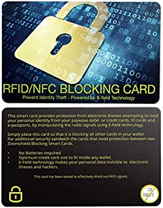 Sweepstakes: RFID Blocking Card-NFC Contactless Cards Protection for…