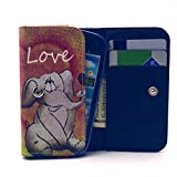 Universal Wallet Case, Univeral Wallet Bag For Cell Phone,Tikeda Premium PU Leather Wallet Flip Protective Skin Case for Apple iPhone 3GS,Apple Touch 4, Samsung Galaxy S6310/I9000/S7898/S6102/S5300/S7392/I8150/I8160/S5830/B5330/I9070/S5360/S7262/S7272/I8190/S7500/S5570/G130/G110, LG E460/E440/L5/L3/L30/p715, Nokia N610/N8/N520/N620/N710/N800/N530/X,Sony E1/ST22I/ST18I/ST21I/ /G1905,BlackBerry BB9900/BB9790/Q5,HUAWEI D3,HTC G13,G20,D200 or Other Smartphones Within 12.3*6.5*2CM