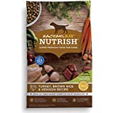 Rachael Ray Nutrish Natural Dry Dog Food, Turkey, Brown Rice & Venison Recipe, 26 lbs