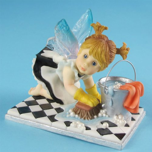 Enesco My Little Kitchen Fairies from Little Scrubber Fairie Figurine 3.75 IN