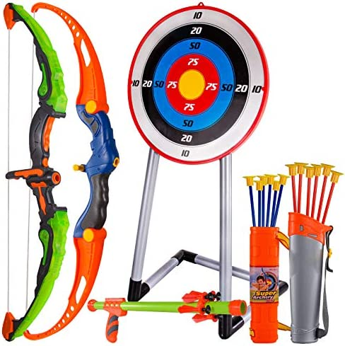 CAPTAIN CHAOWING Bow and Arrow for Kids, Archery...