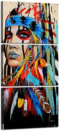 American Painting Colorful Ethnologic Accessories product image