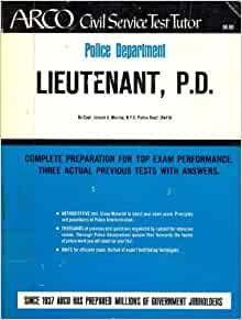 Police Sergeant, Lieutenant, and Captain Promotion Exams ...