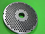 Smokehouse Chef Size #42 x 3/16' hamburger grind holes. Stainless Steel for Cabelas, Hobart, LEM, Weston and others