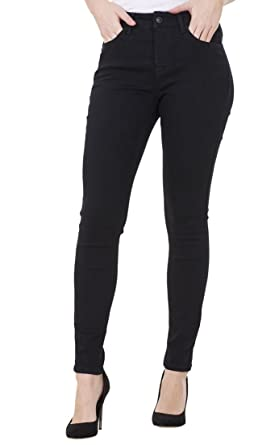 56abdcaff7ba6 CURVE APPEAL Ladies Skinny Slim Pants Stretch High Rise Womens Denim  Jeggings  Amazon.co.uk  Clothing