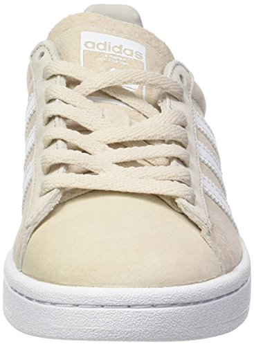 Footwear de para White Clear Mujer Zapatillas W Adidas Deporte Campus Brown Marrón Crystal White qtOwfXv