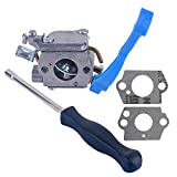 Savior Carburetor with Adjustment Tool Kit Screwdriver for ZAMA C1Q-W37 545081811 Husqvarna 125B 125BX 125BVX