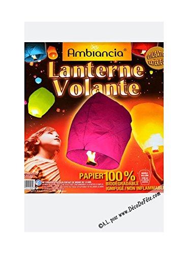 Generico Farol Volante Biodegradable, Color Blanco: Amazon.es: Hogar