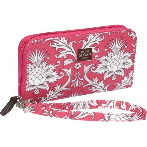 Emilie Sloan Mary Wallet Wristlet (Cerise), Bags Central
