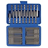 50PCS Drill Bit and Screwdriver Set, ONEVER Screwdriving Set Magnetic with Tough Case (50pcs)