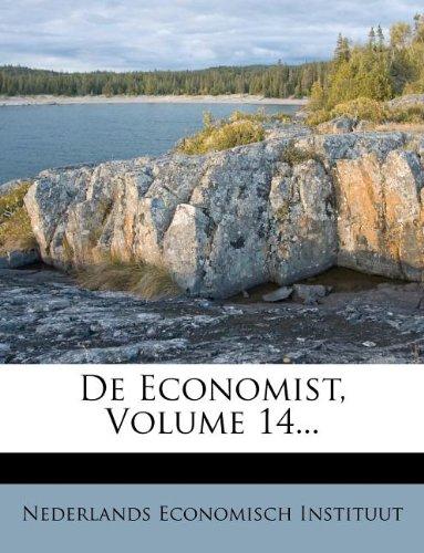 De Economist, Volume 14... (Dutch Edition) ebook