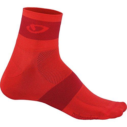 - Giro Comp Racer Socks Bright Red, L - Men's