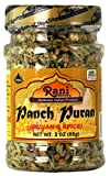 Rani Panch Puran (5 Spice) 3oz (85g) ~ All Natural | Vegan | Gluten Free Ingredients | NON-GMO | Indian Origin (Equal Blend of Fenugreek, Mustard, Kalonji/Nigella, Fennel and Cumin)