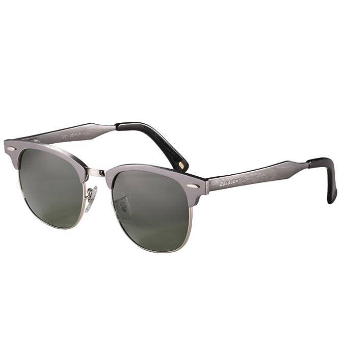 Gafas de sol de los hombres/gafas de sol polarizadas/gafas graduadas medio de