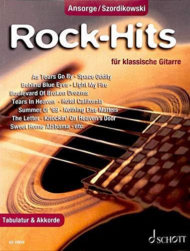 Rock-Hits ED22820 9783795712471 - Juego de 25 canciones para ...
