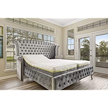 Queen adjustable bed base frame individual - Cool queen bed frames ...