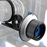 Lightdow LD0103A Follow Focus Finder F1 with Focus Ring Belt Support 15mm Rod (F1 Fits Slide Way)