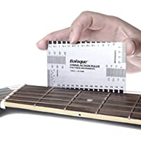 Pixnor String Action Ruler Gauge Tool for Guitar Bass