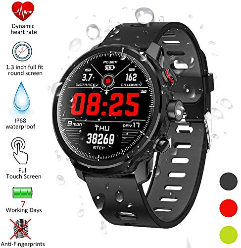 DOOK Watch Fitness Tracker,Smart Watch for Android Phones,All-Day Activity Tracker with Heart Rate Sleep Monitor IP68…