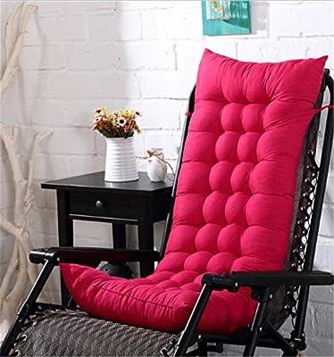 Marbeine – Cojín para silla de relax, tumbona de jardín, terraza ...