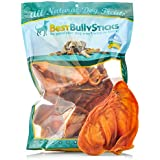 Best Bully Sticks USA Pig Ears by (8 Pack) Thick-Cut, All Natural Dog Treats