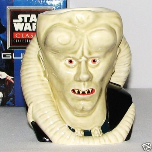 Star Wars Collector Series Figural Mugs, Bib Fortuna by Applause