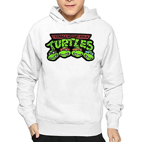 Mens Teenage Mutant Ninja Turtles Big Face Hooded Pullover Cool Sweatshirts (Krang Hoodie)