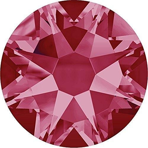 2000, 2058 & 2088 Swarovski Flatback Crystals Non Hotfix Indian Pink | SS5 (1.8mm) - Pack of 50 | Small & Wholesale Packs