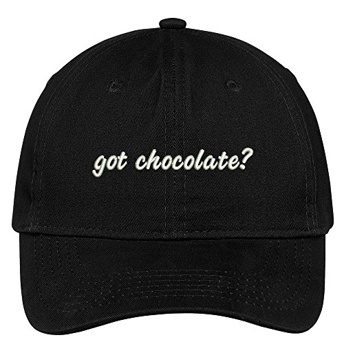 Got Chocolate? Embroidered Adjustable Cotton Cap - Black (Got Chocolate compare prices)