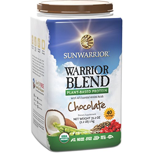 Sunwarrior Warrior Plant Based Chocolate Servings product image