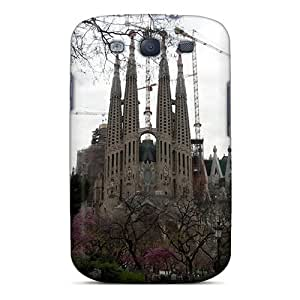Cute High Quality Galaxy S3 Sagrada Familia Case