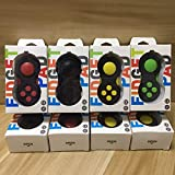 Fidget Pad Game Handle Fidget Cube for Killing Time Stress Relife with 6 Buttons