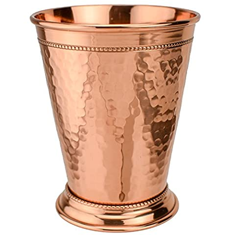 Prince of Scots Hammered Copper 12 Ounce Mint Julep Cup ~ Gift Boxed