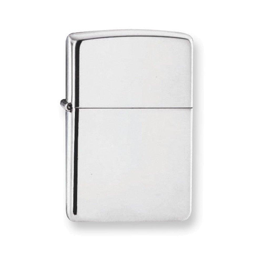 Zippo High Polish Sterling Silver Lighter