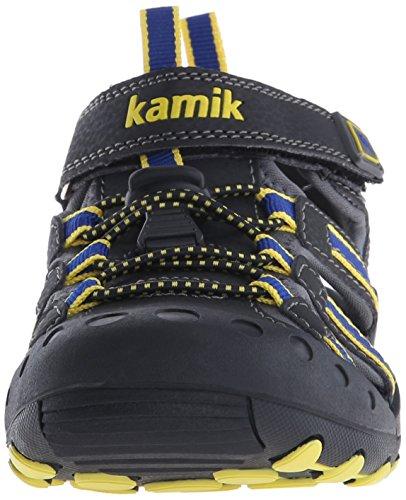 KamikCrab - Sandalias Atléticas Unisex Niños Gris - grau/royalblau