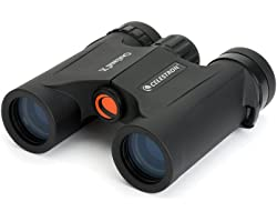Celestron – Outland X 8x25 Binoculars – Waterproof & Fogproof – Binoculars for Adults – Multi-Coated Optics and BaK-4 Prisms