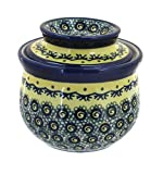 Polish Pottery Renaissance French Butter Dish