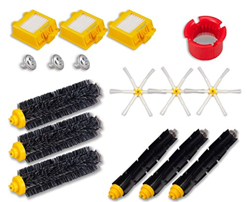 I-clean iRobot Roomba Replacement Parts/Accessories 700 Series, 13Pcs For iRobot Roomba 770 780 700 760 790 Vacuum Cleaner Kit