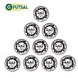 10 x Gfutsal TotalSala PRO 400 Futsal Match Ball (Size 4)
