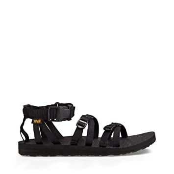d57d1b150f4 Teva Alp Womens Sandals UK 7 Black  Amazon.co.uk  Sports   Outdoors