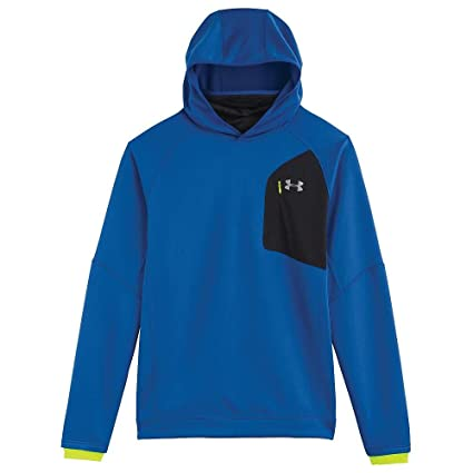 best service 2fb33 a11be Under Armour UA ColdGear Infrared Chrome Hoody - Men s Scatter   Steel    Reflective Large