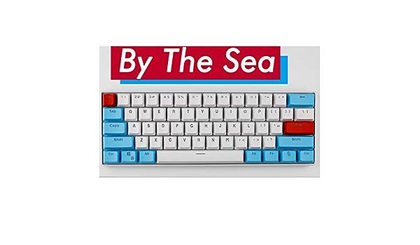 61 Teclado Key PBT grueso nombres de teclas del teclado ...